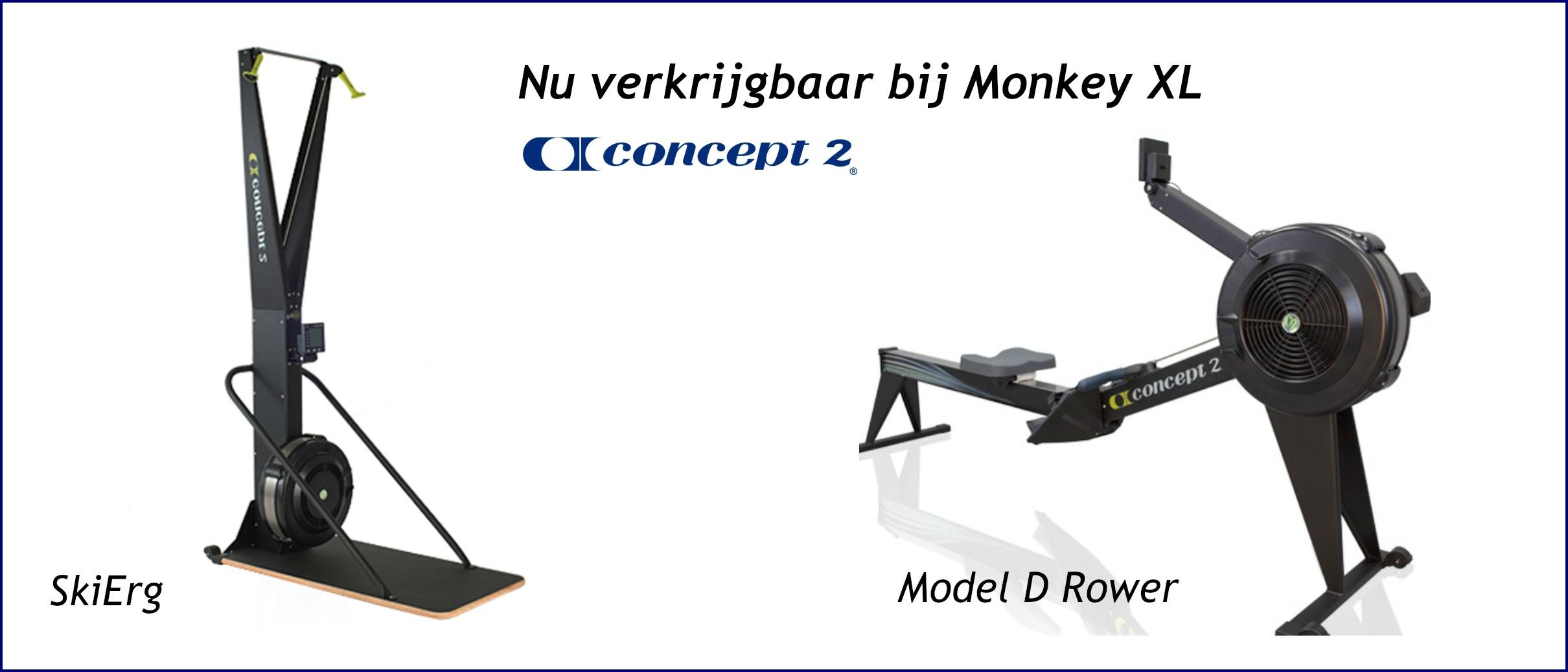 Concept2 SkiErg en Roeier Model D
