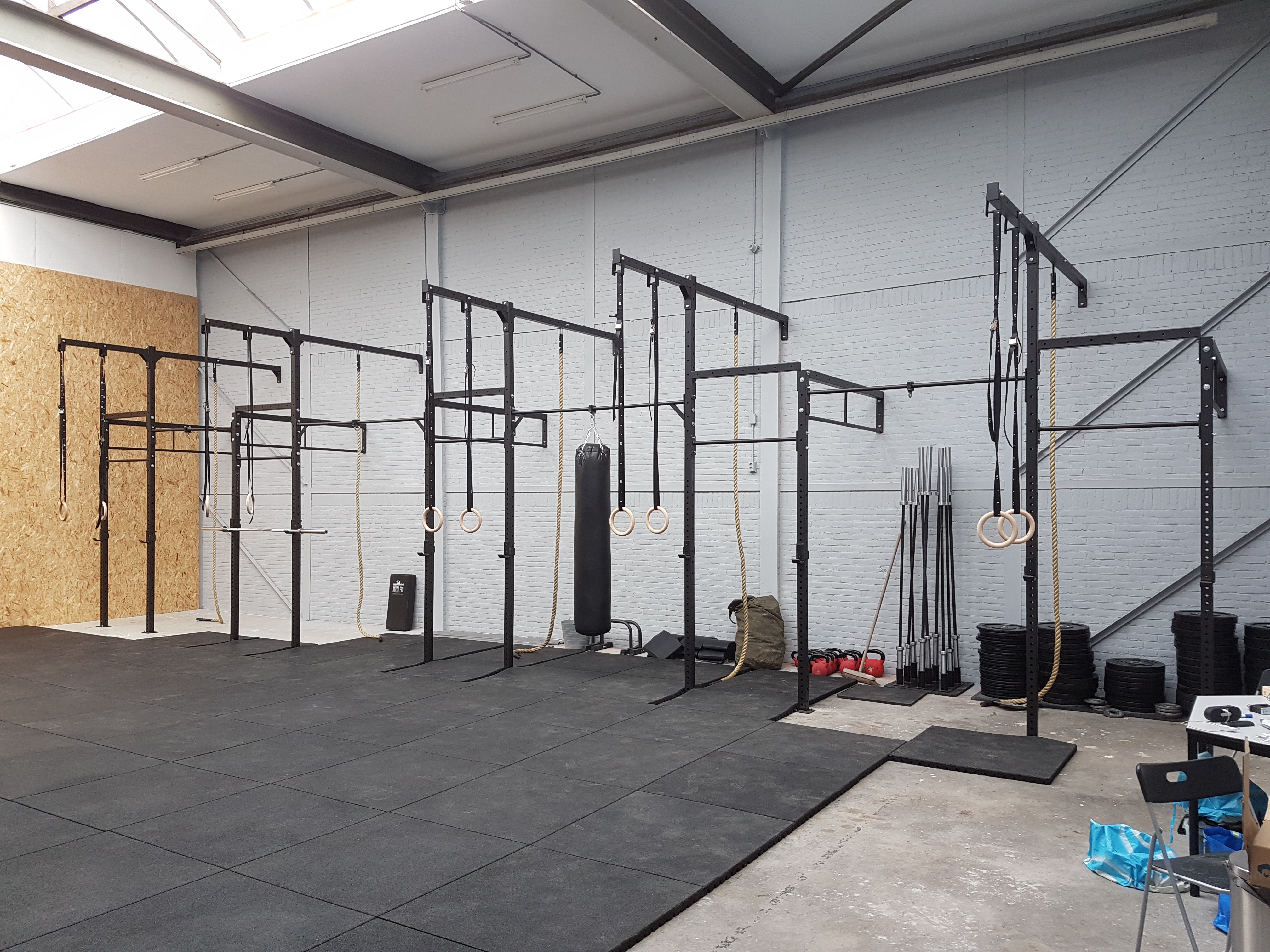 Crossfit Fitness rek