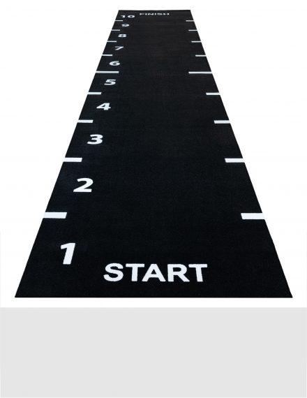 fitness crossfit vloer tegels grasmat rubber sprinttracks