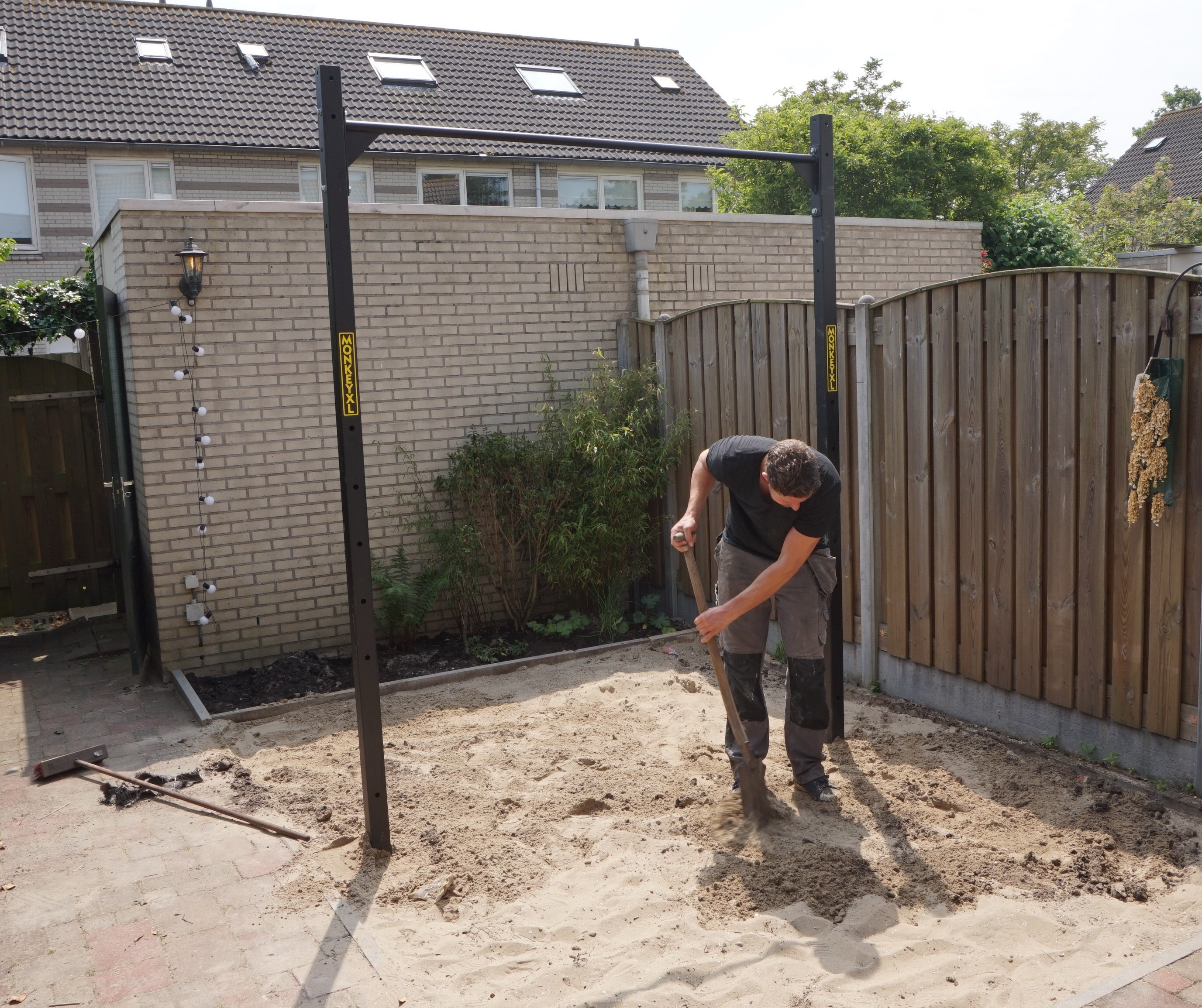 Wild Monkey Pull up bar tuin