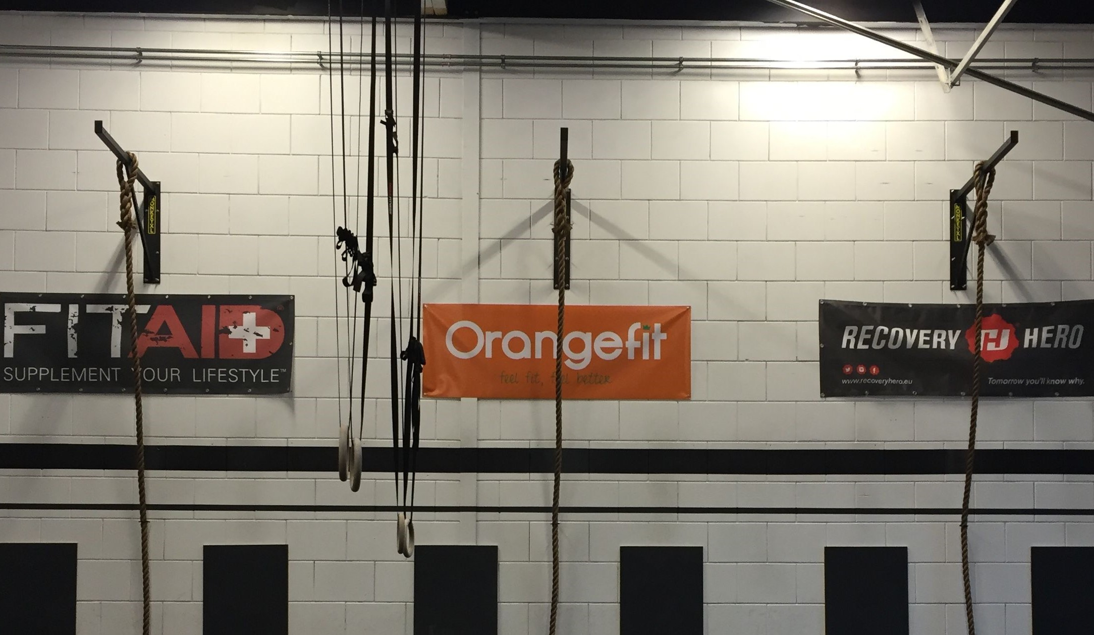 ring en touw bevestiging crossfit