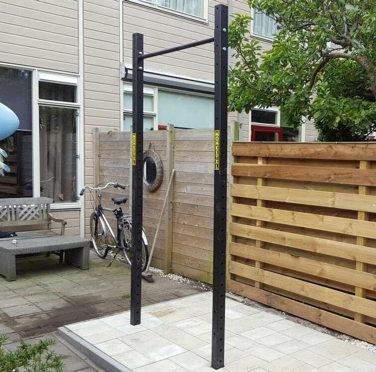 Pull up squat rek tuin