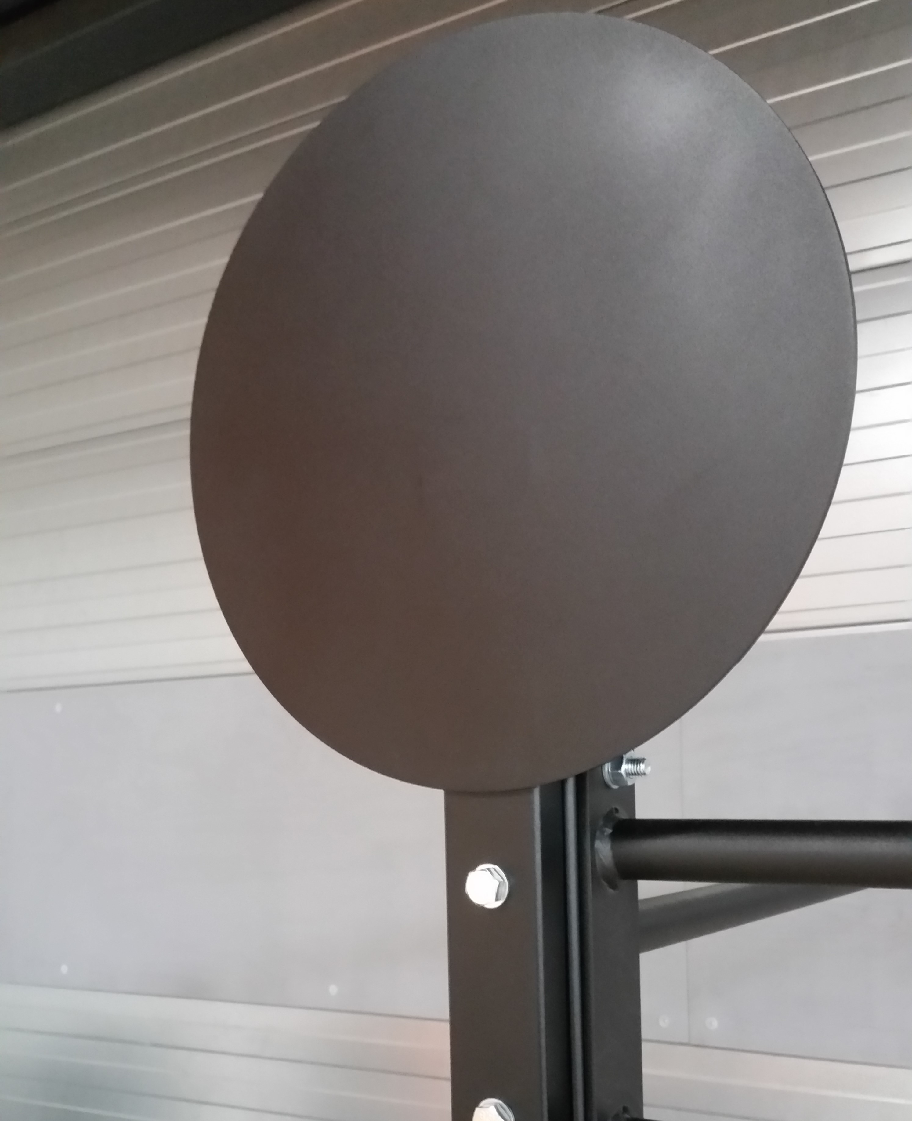 Wall ball target
